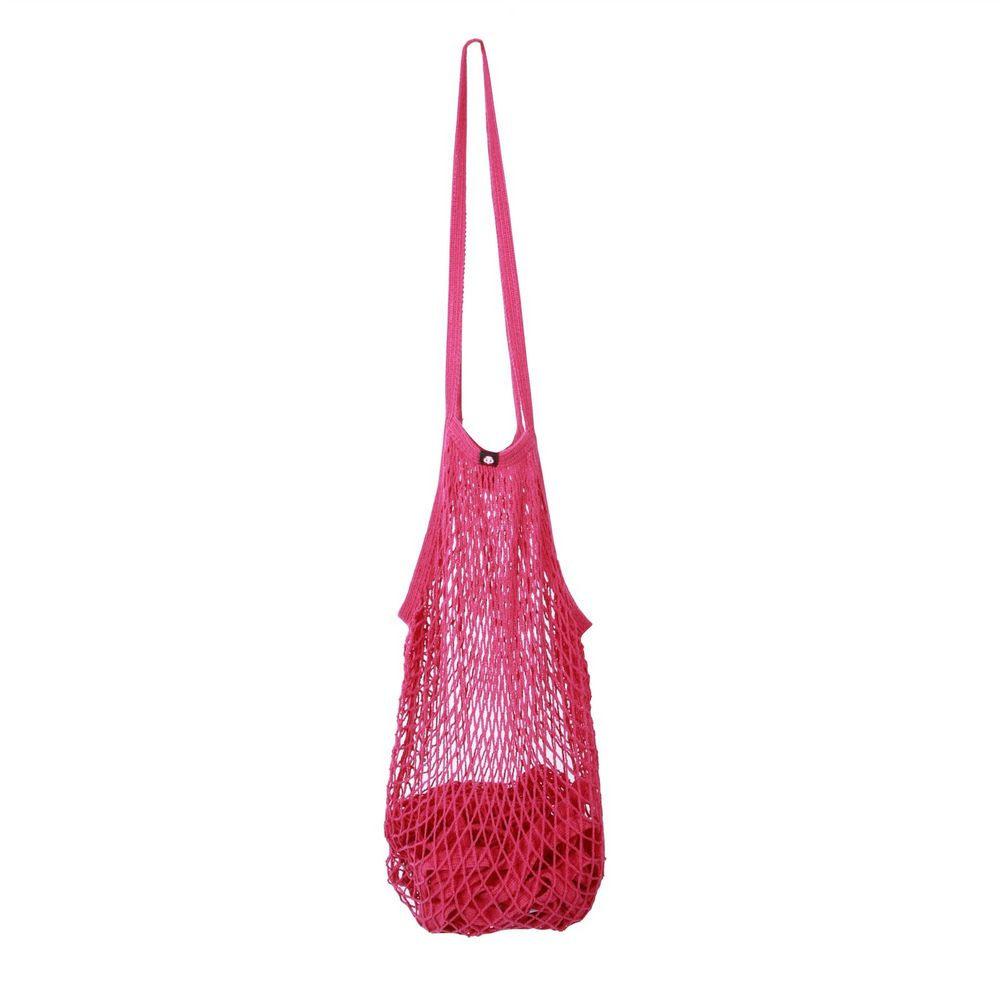 Cotton String Bag - Pink